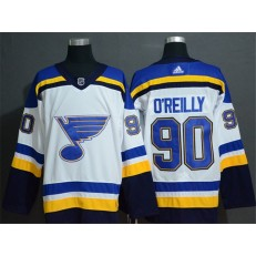 St.Louis Blues #90 Ryan O'Reilly White Adidas Jersey