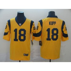 Los Angeles Rams #18 Cooper Kupp Gold Color Rush Limited Nike NFL Men Jersey
