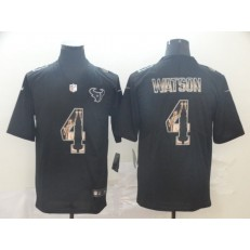 Houston Texans #4 Deshaun Watson Black Statue Of Liberty Limited Nike NFL Men Jersey