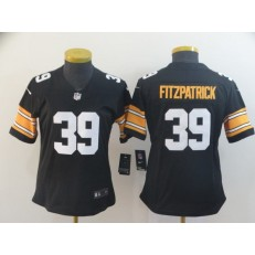 Women Nike Pittsburgh Steelers #39 Minkah Fitzpatrick Black Alternate Vapor Untouchable Limited Jersey
