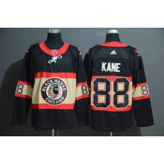 Chicago Blackhawks #88 Patrick Kane Premier Black New Third Adidas Jersey