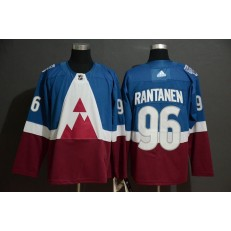 Colorado Avalanche #96 Mikko Rantanen Blue Red 2020 NHL Stadium Series Adidas Jersey