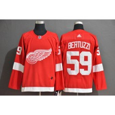 Detroit Red Wings #59 Tyler Bertuzzi Red Adidas Jersey