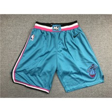 Miami Heat Blue City Edition Nike Swingman Shorts