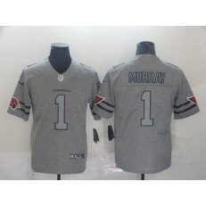 Arizona Cardinals #1 Kyler Murray 2019 Gray Gridiron Gray Vapor Untouchable Limited Nike NFL Men Jersey