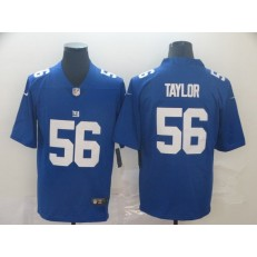 New York Giants #56 Lawrence Taylor Blue Vapor Untouchable Player Limited Nike NFL Men Jersey