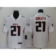 Atlanta Falcons #21 Todd Gurley II White New Vapor Untouchable Limited Nike NFL Men Jersey