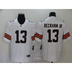 Cleveland Browns #13 Odell Beckham Jr. White 2020 New Vapor Untouchable Limited Nike NFL Men Jersey