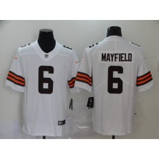 Cleveland Browns #6 Baker Mayfield White 2020 New Vapor Untouchable Limited Nike NFL Men Jersey