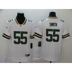 Green Bay Packers #55 Za'Darius Smith White Vapor Untouchable Limited Nike NFL Men Jersey