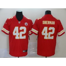 Kansas City Chiefs #42 Anthony Sherman Red Vapor Untouchable Limited Nike NFL Men Jersey