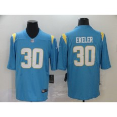 Los Angeles Chargers #30 Austin Ekeler Blue 2020 New Vapor Untouchable Limited Nike NFL Men Jersey