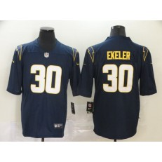Los Angeles Chargers #30 Austin Ekeler Navy 2020 New Vapor Untouchable Limited Nike NFL Men Jersey