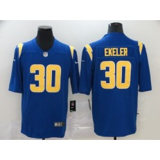 Los Angeles Chargers #30 Austin Ekeler Royal 2020 New Vapor Untouchable Limited Nike NFL Men Jersey