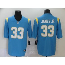 Los Angeles Chargers #33 Derwin James Blue 2020 New Light Vapor Untouchable Limited Nike NFL Men Jersey