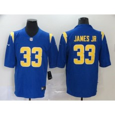 Los Angeles Chargers #33 Derwin James Royal 2020 New Vapor Untouchable Limited Nike NFL Men Jersey