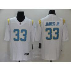 Los Angeles Chargers #33 Derwin James White 2020 New Light Vapor Untouchable Limited Nike NFL Men Jersey