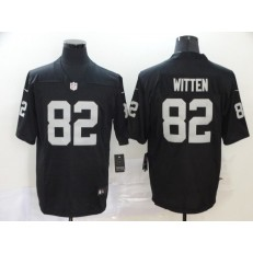 Oakland Raiders #82 Jason Witten Black Vapor Untouchable Limited Nike NFL Men Jersey