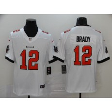 Tampa Bay Buccaneers #12 Tom Brady White New 2020 Vapor Untouchable Limited Nike NFL Men Jersey