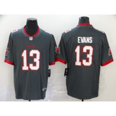 Tampa Bay Buccaneers #13 Mike Evans Gray New 2020 Vapor Untouchable Limited Nike NFL Men Jersey