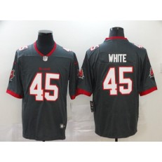 Tampa Bay Buccaneers #45 Devin White Gray New 2020 Vapor Untouchable Limited Nike NFL Men Jersey