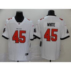 Tampa Bay Buccaneers #45 Devin White White New 2020 Vapor Untouchable Limited Nike NFL Men Jersey