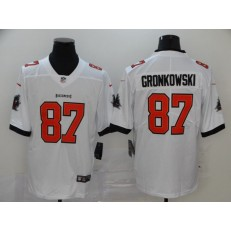 Tampa Bay Buccaneers #87 Rob Gronkowski White 2020 New Vapor Untouchable Limited Nike NFL Men Jersey