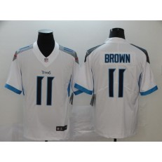 Tennessee Titans #11 A.J. Brown White New Vapor Untouchable Limited Nike NFL Men Jersey
