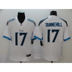 Tennessee Titans #17 Ryan Tannehill White Vapor Untouchable Limited Nike NFL Men Jersey