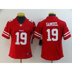 Women Nike Pittsburgh Steelers #19 JuJu Smith-Schuster Red Vapor Untouchable Limited Jersey