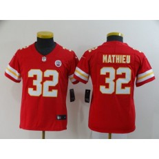 Youth Nike Kansas City Chiefs #32 Tyrann Mathieu Red Vapor Untouchable Limited Jersey