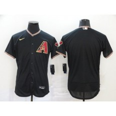 MLB Arizona Diamondbacks Blank Black 2020 Nike Flexbase Jersey