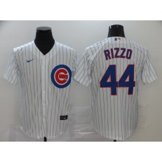 MLB Chicago Cubs #44 Anthony Rizzo White 2020 Nike Cool Base Jersey