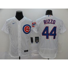 MLB Chicago Cubs #44 Anthony Rizzo White 2020 Nike Flexbase Jersey