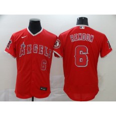 MLB Los Angeles Angels 6 Anthony Rendon Red 2020 Nike Flexbase Jersey