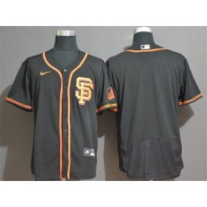 MLB San Francisco Giants Blank Black 2020 Nike Flexbase Jersey