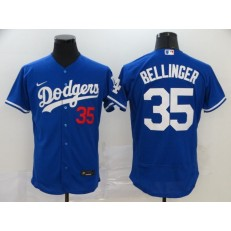 MLB Los Angeles Dodgers #35 Cody Bellinger Royal 2020 Nike Flexbase Jersey
