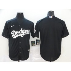 MLB Los Angeles Dodgers Blank Black 2020 Nike Cool Base Jersey