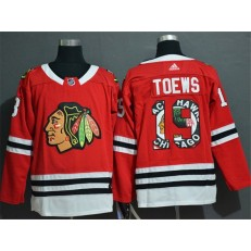 Chicago Blackhawks #19 Jonathan Toews Red Fashion Adidas NHL Jersey