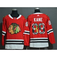 Chicago Blackhawks #88 Patrick Kane Red Fashion Adidas NHL Jersey