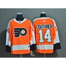 Philadelphia Flyers #14 Sean Couturier Orange Adidas NHL Jersey