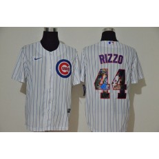 MLB Chicago Cubs #44 Anthony Rizzo White Nike Cool Base Player Jersey