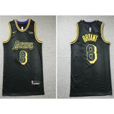Los Angeles Lakers #8 Kobe Bryant Black Nike City Edition Swingman Jersey