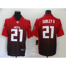 Atlanta Falcons #21 Todd Gurley II Red New Vapor Untouchable Limited Nike NFL Men Jersey