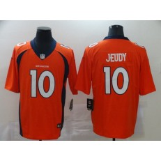 Denver Broncos #10 Jerry Jeudy Orange 2020 NFL Draft First Round Pick Vapor Untouchable Limited Nike NFL Men Jersey