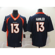 Denver Broncos #13 KJ Hamler Navy 2020 NFL Draft Vapor Untouchable Limited Nike NFL Men Jersey