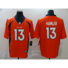Denver Broncos #13 KJ Hamler Orange 2020 NFL Draft Vapor Untouchable Limited Nike NFL Men Jersey