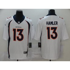 Denver Broncos #13 KJ Hamler White 2020 NFL Draft Vapor Untouchable Limited Nike NFL Men Jersey
