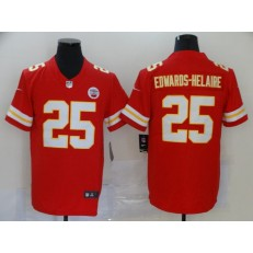 Kansas City Chiefs #25 Clyde Edwards-Helaire Red 2020 NFL Draft First Round Pick Vapor Untouchable Limited Nike NFL Men Jersey