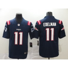 New England Patriots #11 Julian Edelman Navy 2020 New Vapor Untouchable Limited Nike NFL Men Jersey